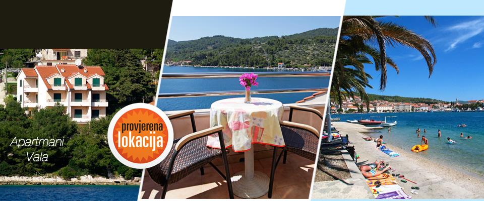 Ljetovanje u apartmanima Vala na Korčuli za 2 odraslih + 2 djeca do 12 godina, 5 ili 7 dana uz izlet i ručak već od 2999 kuna! Izaberite datum i odmorite se do čak 31.08.2014.!