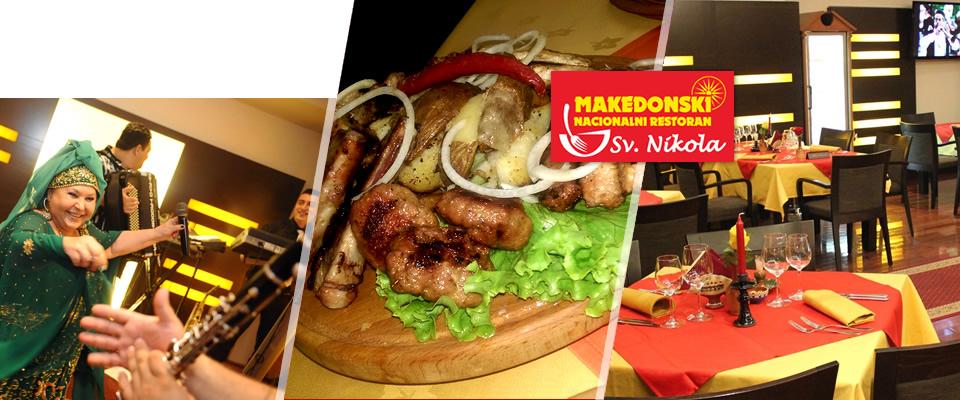 Mmmmmm….okusite i doživite dašak tradicionalne Makedonije u srcu Zagreba! Originalno okruženje i autentični gastro specijaliteti za 4 osobe u restoranu Sveti Nikola uz 50% popusta!