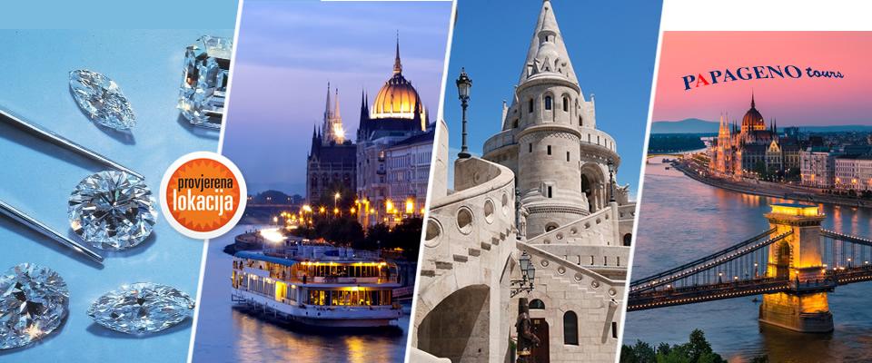 Posjet Budimpešti od 04. – 05.10.2014.! Hotel*** uz noćenje s doručkom, prijevozom u oba smjera, posjet tvornici dijamanata, Sea parku Tropicarum za samo 399 kuna!