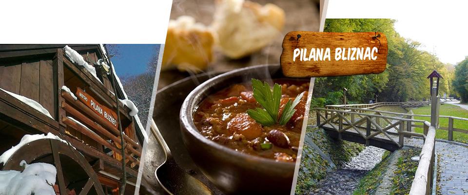 Ništa ne ugrije hladne jesenske dane kao porcija graha! 2 porcije graha sa kobasicom + porcija kruha u restoranu Pilana Bliznec u podsljemskoj zoni za samo 35 kuna!