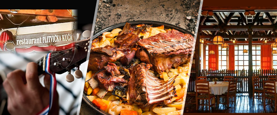 Samo u petak, 31. 10.! Janjetina sa ražnja, krumpir ispod peke, uz domaću goveđu juhu i desert + tamburaši u Plitvičkoj kući u Zagrebu, za 2 osobe i uz 50% popusta!