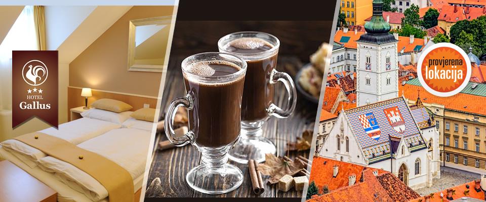 Čokoladna čarolija u Hotelu Gallus u Zagrebu – noćenje uz doručak i večeru te čokoladnu dobrodošlicu za 1 ili 2 osobe, već od 359 kn!