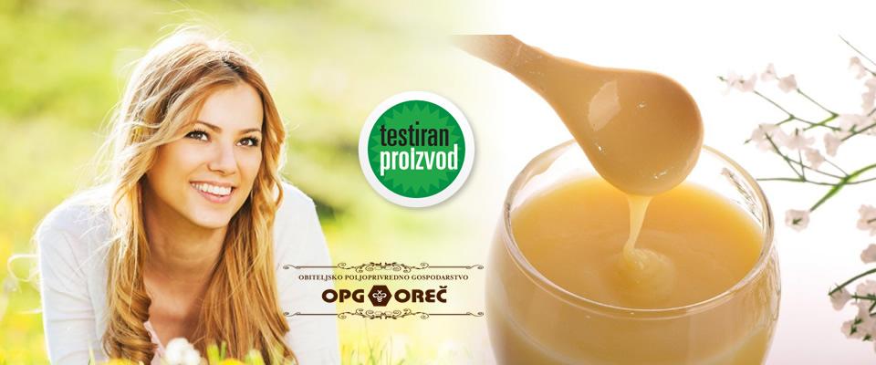Matična mliječ – eliksir dugovječnosti! Najsavršenija namirnica u krem med pakiranju od 200 grama, uz mogućnost dostave za cijelu Hrvatsku, za samo 79 kn!