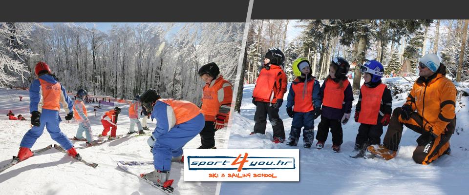 Dvodnevna vikend škola skijanja za djecu i odrasle na SLJEMENU , za samo 369 kuna! Uključen najam skijaške opreme i upotreba školske žičare!