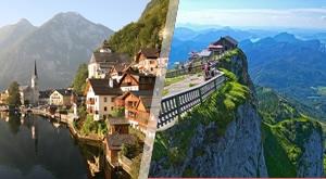 Uživajte u nezaboravnom pogledu na austrijske Alpe i ledenjačka jezera, sa vidikovca koji se nalazi na 2108m n/v i oduševite se Hallsattom, jednim od najljepših austrijskih gradića!