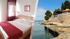 Guštajte u obiteljskom odmoru u Hotelu Riviera 2* na samoj obali mora, okruženom bujnim mediteranskim raslinjem! 1 dijete do navršenih 7 god. bez ležaja s prehranom GRATIS!