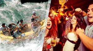 Tražite Avanturu? Onda je rafting kroz kanjon Vrbasa za Vas pravi izbor uz to će Vam savršeno ispuniti dan na prelijepom Vrbasu do 3,5h! Zagarantirana Vam je zabava i avantura na rijeci Vrbas ;) Ponudu možete koristiti do 01.08.2017.!