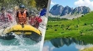 Uživajte u 33 km raftinga uz skipera na prekrasnoj Tari i Drini, u prirodi zbog koje doista zastaje dah! EKSKLUZIVNO!!! Kupon vrijedi do 30.09.2017.!