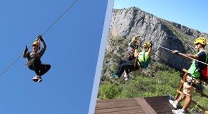 [DRNIŠ] Razgledajte krajolik kanjona Čikole iz zraka i uživajte u prirodi iz drugačije perspektive! Adrenalinska vožnja na Ziplineu preko kanjona Čikole za samo 150 kuna!