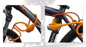 Zaštite svoj bicikl!!! Lokot na ključ Xplorer narančaste boje i dimenzija 10×1000 mm po najpovoljnijoj cijeni, za samo 15 kuna! Preuzimanje u Zagrebu ili moguća dostava za cijelu Hrvatsku!
