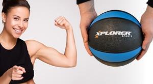 Ojačajte mišiće! XPLORER samo na Crnom Jaju donosi medicinku težine 3 kilograma za samo 99 kuna! Moguće preuzimanje na 2 lokacije u Zagrebu ili dostava za cijelu Hrvatsku!