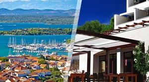 Dočekajte ljeto na predivnom Murteru! Lipanj uz odmor od 4 dana/3 noćenja s POLUPANSIONOM za 2 osobe u šarmantnom obiteljskom hotelu Ana***…2125kn!