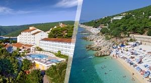 Proljeće u kristalnom plavetnilu uz biserne plaže Rapca! 3 dana/2 noćenja u Valamar hotelu Miramar 3* ili Allegro Hotelu 3* s POLUPANSIONOM za 2 osobe uz vanjski bazen s morskom vodom…od 744 kn!