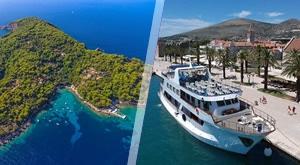 Dođite i istražite tajne Jadranskog mora! Luksuzno krstarenje brodom Robin Hood (39 m) po Južnoj Dalmaciji! Dijete do 2 godine u krevetu s odraslima GRATIS!