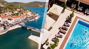 Ljetni doživljaji na zavodljivom Murteru/Tisno/ na 3, 4, 6 ili 8 dana uz 2, 3, 5 ili 7 noćenja s POLUPANSIONOM za 2 osobe u hotelu Borovnik uz korištenje ležaljki oko bazena i na plaži …od 1299 kn!