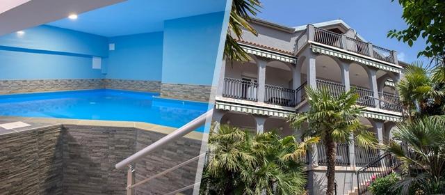 S obitelji ili prijateljima odmorite i kupajte se 3 ili 4 dana u Apartmanima Dina u Biogradu n/M!