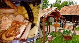 Savršena oaza odmora u prirodi u Eko Gradunje uz čak 11 bogatih jelovnika za ručak!