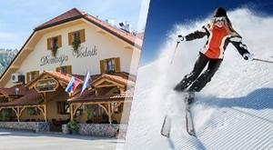 Zima uz idilične prizore jednog od najboljih skijališta u Sloveniji i skijanje na Krvavcu! 1 ili 2 noćenja s buffet doručkom u Domačiji Vodnik i 2h VIP romantičnim wellnessom za dvoje…od 623 kn!