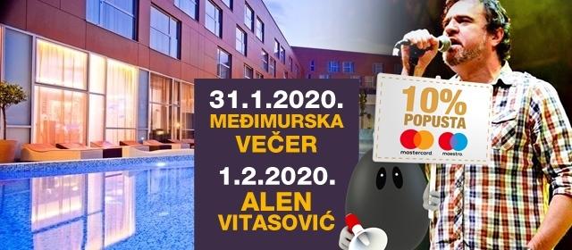 Fenomenalna ponuda NOĆI ISTRE I MEĐIMURJA u Hotelu Spa Golfer uz nastup Alena Vitasovića!