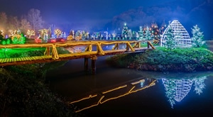 <b>SALAJLAND</b> Čarobna božićna priča obitelji Salaj - <b>doživite božićnu čaroliju uz 5 milijuna lampica!</b>