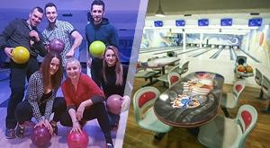 Boutique Bowling centar Zagreb u samom centru grada poziva Vas na vrhunsku zabavu! KUGLANJE za do 6 osoba uz 2h najma staze + cipele za bowling GRATIS + 1L koktela…189 kn!
