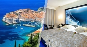 Prizori svjetske baštine – Dubrovnik! Provedite ljeto uz 2, 4 ili 7 noćenja s doručkom u elitnom Hotelu Lapad 4*, očekuje Vas piće dobrodošlice + večera, sve za dvoje i dijete do 3 god., od 1499 kn!