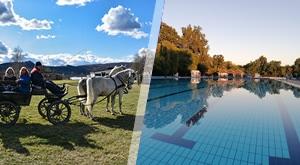 Ljetno osvježenje u Lipiku na 3 dana/2 noćenja u sobama Matačić ili apartmanu Mima za 4 osobe + kupanje na Bazenima Lipik i posjet Ergeli Lipik + parking…samo 1199 kn!