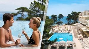 Oaza za idealno ljeto Valamar Carolina Hotel 4* na Rabu poziva Vas na 3 dana/ 2 noćenja s Polupansionom uz izbor smještaja i parking, sve za dvoje ili dvoje i dijete do 13 g., od samo 2625 kn!