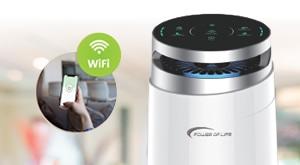 [NOVO na TRŽIŠTU!] Učinite vaš prostor zdravim i sigurnim za sebe i svoje bližnje uz Power of Life pročišćivač zraka- HEPA filter 3 u 1 s kontrolom preko Wi-Fi za samo 999 kn! Dostava GRATIS!