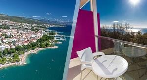 Krenite u ljetnu avanturu na 3 dana/ 2 noćenja s doručkom u vrhunskom Hotelu Crikvenica 4 uz opuštanje na sunčalištu i uživanje u sauni, sve za 2 osobe i djecu do 5 g., samo 1289 kn!