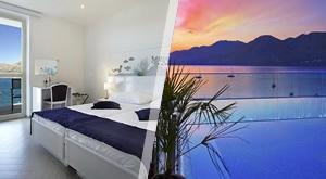Usred tihe uvale uzdiže se luksuzni Hotel Cavtat! Moderan dizajn i infinity bazen očekuju Vas ovog ljeta uz 3 ili 7 noćenja s POLUPANSIONOM, sve za 2 osobe + dijete do 3 g., već od samo 2498 kn!