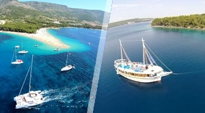 NOVO! Briljantan jednodnevni izlet drvenim brodom Mala Kate na ruti Split – Bol – Split + bogati ručak s prilozima i piće dobrodošlice, samo 549 kn/ osobi!