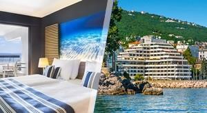 Jedinstven odmor ovog SRPNJA! Ispišite svoju razglednicu iz Opatije uz sjajni Hotel Admiral 4*: 3 dana/ 2 noćenja s Polupansionom za 2 osobe i dijete do 12 god. uz Wellness Spa, samo 2091 kn!