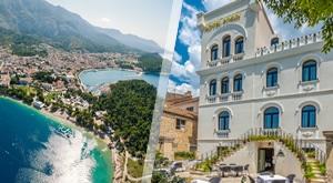 NOVO! LUKSUZNI odmor u Makarskoj u Heritage Hotel Porin 4* – 3 dana/ 2 noćenja s doručkom uz piće dobrodošlice   večerom u 3 slijeda (riblji ili mesni menu), sve za 2 osobe i samo 1799 kn!