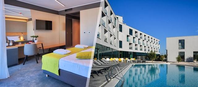 Novootvoreni Hotel Olea 4* u Novalji! 3 ili 4 dana u deluxe sobi uz korištenje SPA, bazena i fitnessa za 2 osobe već od 1639 kn!