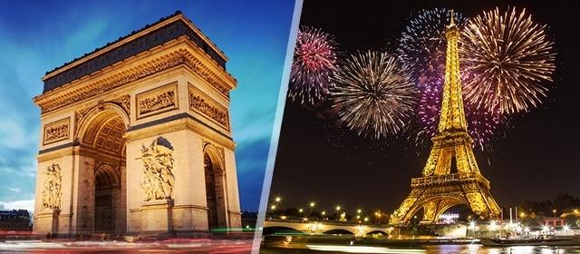 Dočekajte NOVU GODINU u Parizu! Integral Vas vodi na 4 dana/3 noćenja s doručkom u hotelu 3*, prijevozom avionom iz Zagreba, panoranskim razgledom grada, pratiteljem putovanja...za 2789kn/osobi!
