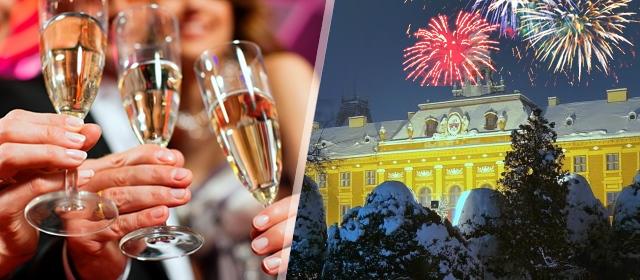 """Veličanstvena 2020. """"u gradu zelenila"""" - Somboru! 2 noćenja sa doručkom i 1 večera + doček Nove godine uz svečanu večeru i neograničeno piće u motelu Beli Dvor Sombor za dvoje i 1295 kn!"""